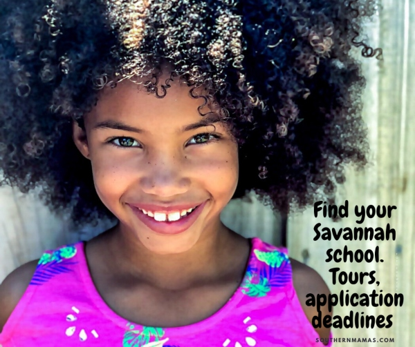 Savannah schools open houses application deadlines preK kindergarten