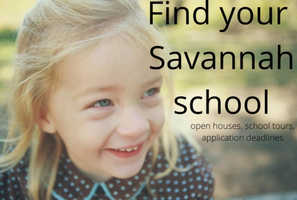 Savannah schools preK kindergarten private public Chatham County 2021