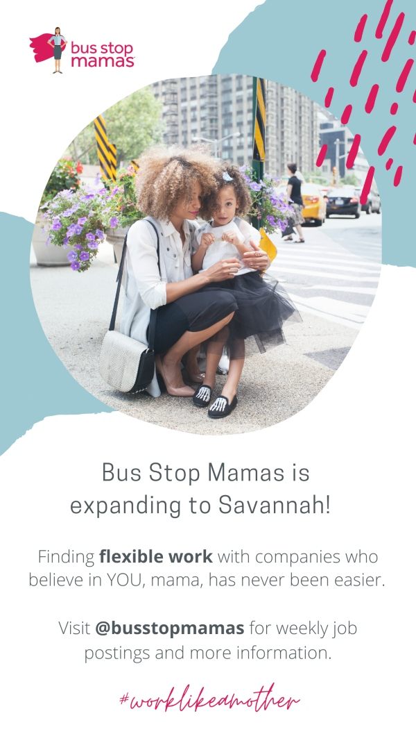Bus Stop Mamas Savannah job part time flexible