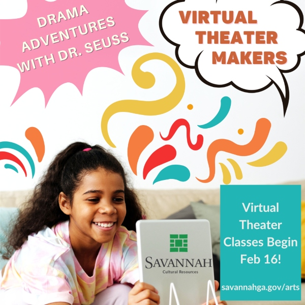 Virtual Theater Classes Savannah Cultural Arts Center 2021