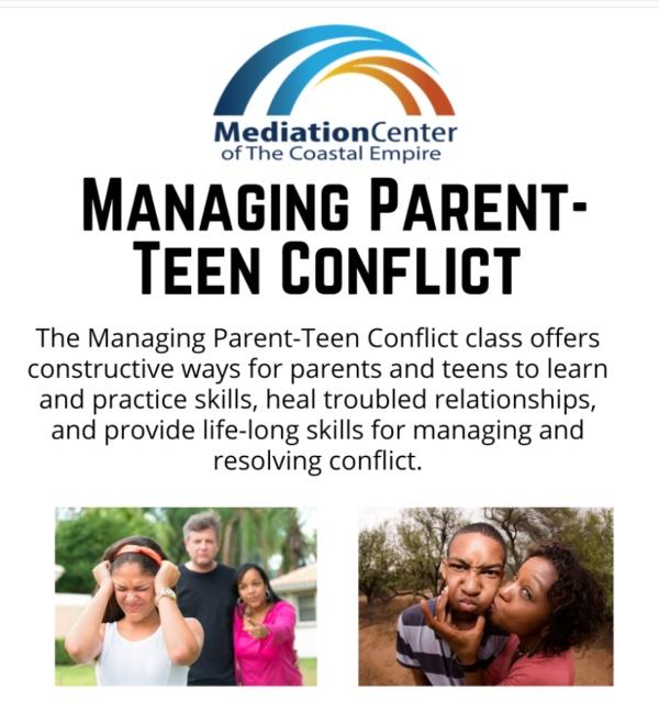 managing parent-teen conflict savannah mediation center