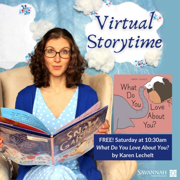 virtual storytime savannah cultural center free kids
