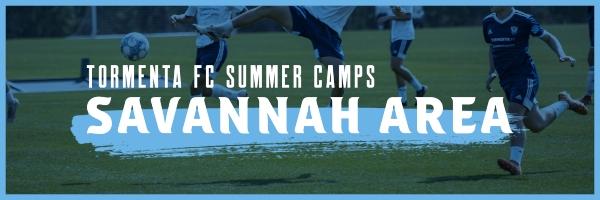 Summer Soccer Camps 2021 Tormenta Savannah Pooler Hilton Head Bluffton