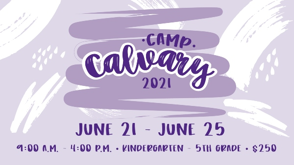 Camp Calvary Savannah Summer Camps 2021 Chatham County