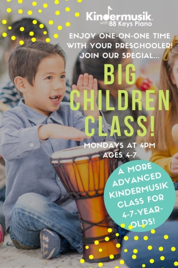 Kindermusik Savannah Chatham County Pooler Big Kids