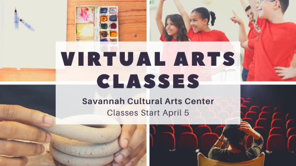 virtual arts classes savannah cultural arts kids art classes children