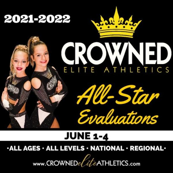 cheerleading gymnastics cheer Crowned Elite Savannah Athletics