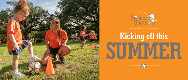 Soccer Shots Savannah Summer 2021 toddlers preschoolers
