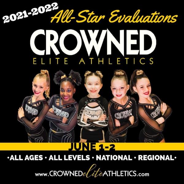 Cheerleading Savannah Crowned Elite Chatham County Pooler