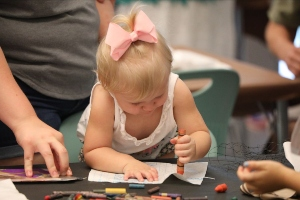 Telfair Museums Art Start toddlers Jepson Center Savannah 2021