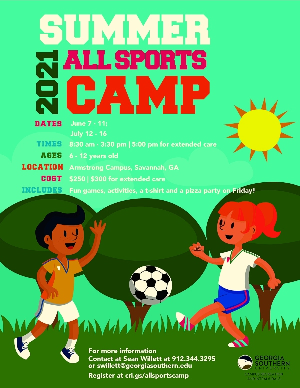 All Sports Camps Armstrong Georgia Southern Savannah