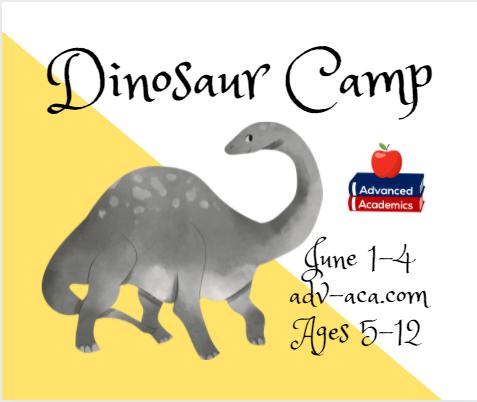 Dinosaur Camp Savannah Pooler summer 2021 kids daycare childcare