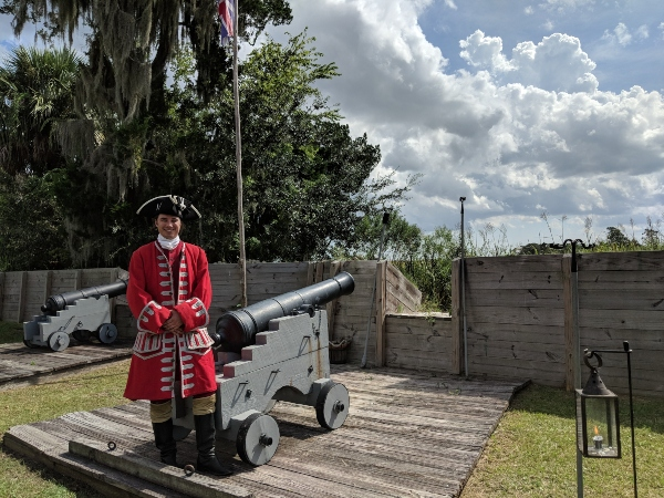 Memorial Day festivities @ Fort King George Historic Site, Darien, Ga.