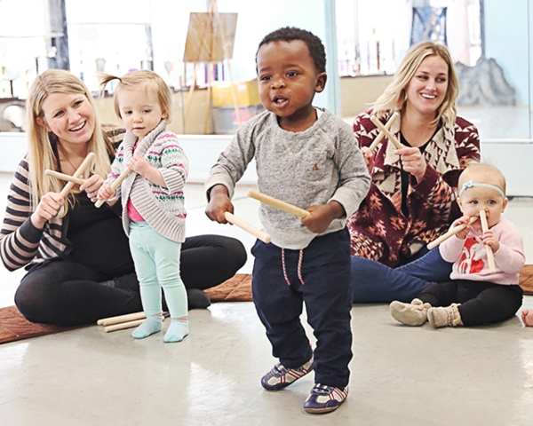 Music Together Savannah toddlers parents