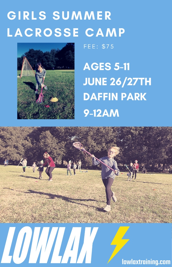 lacrosse camp savannah daffin park Lowcountry summer camps 2021 kids youth