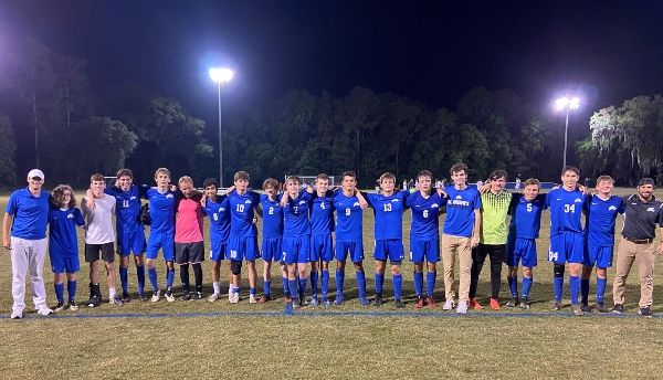 schools Savannah Chatham County private St. Andrew's Soccer Varsity Wilmington Island