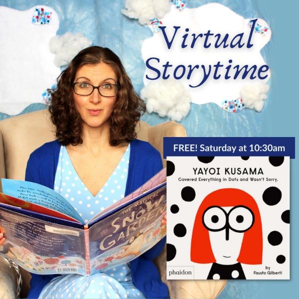 Virtual Storytime Savannah free Cultural Arts Center