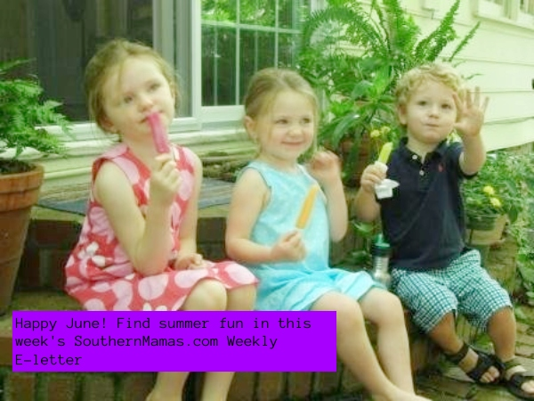 SouthernMamas.com Weekly E-letters subscribe Savannah kids activities event calendar