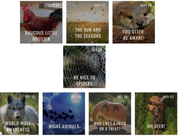 Toddler Tuesday nature program Oatland Island Wildlife Center