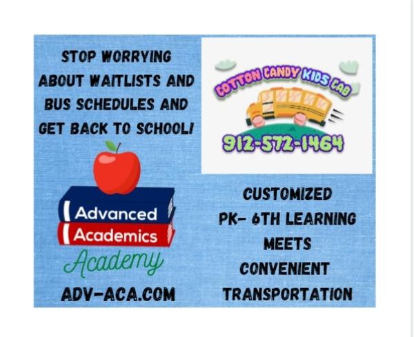 Pooler Advanced Academics Savannah schools preK kindergarten microschool customized