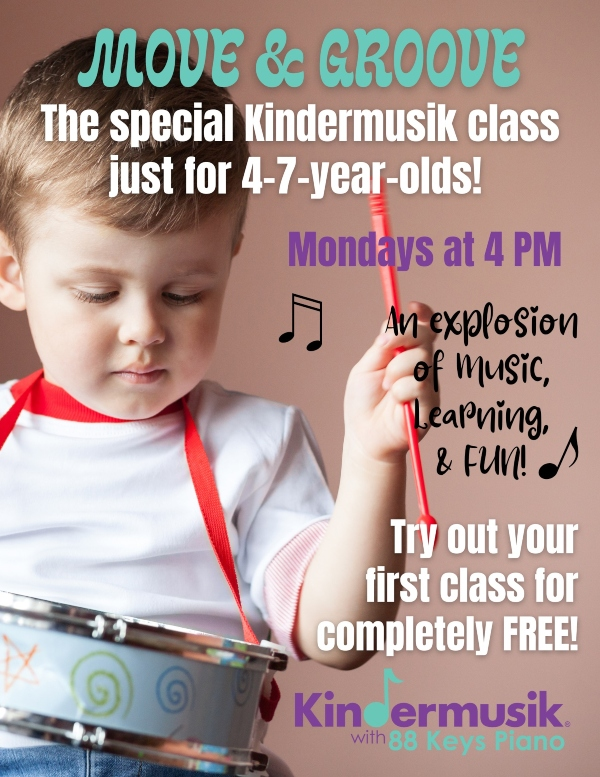kindermusik Savannah Chatham County toddlers preschoolers kids