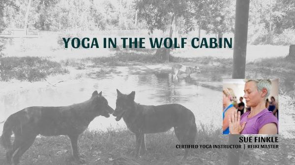 Yoga Wolf Cabin Oatland Island Wildlife Center Friends Chatham County Savannah