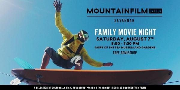 Free family movie night mountainfilm savannah