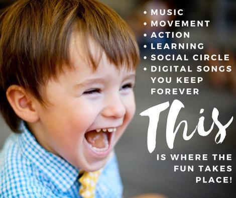 Kindermusik Savannah toddlers preK Chatham County Kindermusik