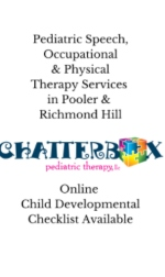 Chatterbox Pediatric Therapy Pooler Richmond Hill speech physical occupational therapy Savannah