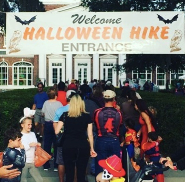 Halloween Hike Oatland Island Wildlife Center Savannah 2021 Chatham County