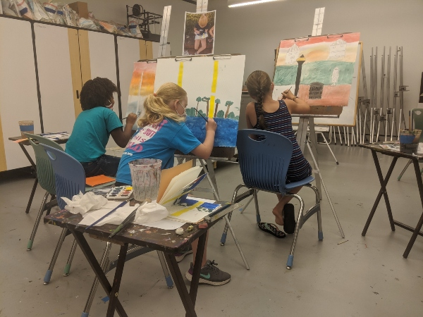 Jepson Art Classes Savannah kids youth students Telfair Museums