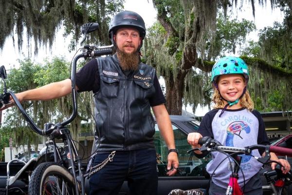 Caroline Cares Bike Helmet Safety Savannah fundraiser