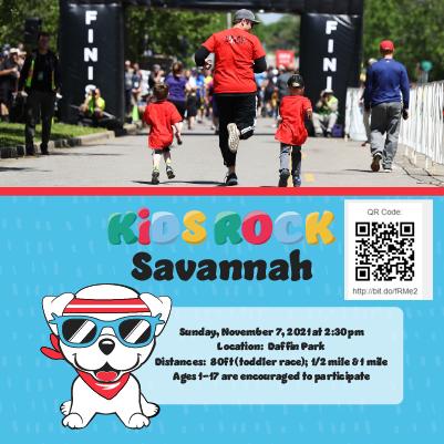 Kids Rock Savannah 2021 November