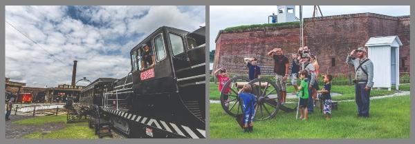 Georgia State Railroad Museum Train Rides Old Fort Jackson Savannah