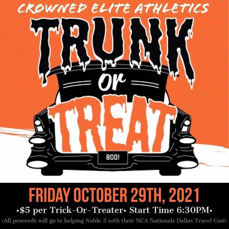 Trunk Treat Crowned Elite Athletics 2021 Halloween events
