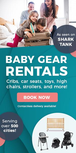 baby gear rentals car seats strollers savannah Chatham county ga