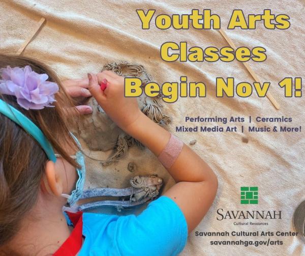 Youth Art Classes Savannah Cultural Arts Center