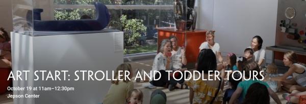 Stroller Toddler Tours Savannah Art Start Jepson Center